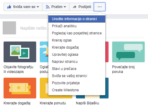 promjena imena facebook stranica - facebook promocija - baza znanja poslovanje društvene mreže coolboss